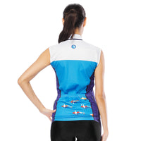 Blue Sea Women's Cycling Sleeveless Bike Jersey /Suit T-shirt Summer Spring Road Bike Wear Mountain Bike MTB Clothes Sports Apparel Top NO. 796 -  Cycling Apparel, Cycling Accessories | BestForCycling.com