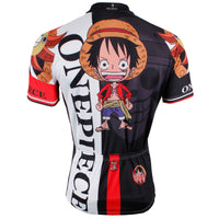 ONE PIECE Series Strong World Pirates Sea Kings Men's Cycling Suit Jersey Team Jacket T-shirt Summer Spring Autumn Clothes Sportswear Cartoon World Monkey D. Luffy Gum-Gum Devil Fruit Eater Black NO.403 -  Cycling Apparel, Cycling Accessories | BestForCycling.com