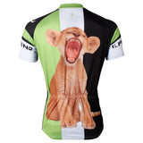 Ilpaladino Nature Lionet Young Lion Men's Short-sleeve Cycling Bike jersey T-shirt Summer Road Bike Wear Mountain Bike MTB Clothes Sports Apparel Top NO.552 -  Cycling Apparel, Cycling Accessories | BestForCycling.com