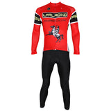 ILPALADINO  Unisex Long Red Sleeves Cycling Clothing Suits with Tights Winter Pro Cycle Clothing Racing Apparel Outdoor Sports Leisure Biking shirt  (Velvet) NO.537 -  Cycling Apparel, Cycling Accessories | BestForCycling.com