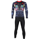 ILPALADINO Men's Long Black Sleeves Cycling Jerseys Suit  Winter Exercise Bicycling Pro Cycle Clothing Racing Apparel Outdoor Sports Leisure Biking (Velvet)  NO.528 -  Cycling Apparel, Cycling Accessories | BestForCycling.com