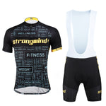 ILPALADINO STRONG WIND FITNESS HEALTH MUSCLES Men's Cycling Jersey/Kit Bike Bicycling Pro Cycle Clothing Racing Apparel Outdoor Sports Leisure Biking T-shirt Wear Outdoor Sport NO.619 -  Cycling Apparel, Cycling Accessories | BestForCycling.com
