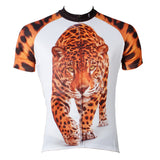 Approaching Leopards Animal Men's Short-Sleeve Cycling Jersey Bicycling Shirts Summer NO.566 -  Cycling Apparel, Cycling Accessories | BestForCycling.com