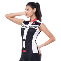 Red-collar White-strip Black Women's Cycling Sleeveless Bike Jersey T-shirt Summer Spring Road Bike Wear Mountain Bike MTB Clothes Sports Apparel Top NO. 793 -  Cycling Apparel, Cycling Accessories | BestForCycling.com