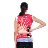 Flying Fish Carps Red Pink Women's Cycling Sleeveless Bike Jersey/Kit T-shirt Summer Spring Road Bike Wear Mountain Bike MTB Clothes Sports Apparel Top / Suit NO. 806 -  Cycling Apparel, Cycling Accessories | BestForCycling.com