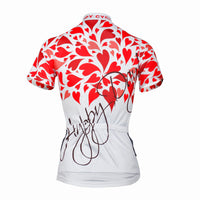 Ilpaladino Lovers/Couples Romantic Red-heart Cycling Jerseys Summer Woman's Men's Sportswear Apparel Outdoor Sports Gear Leisure Biking T-shirt NO. 506/507 -  Cycling Apparel, Cycling Accessories | BestForCycling.com