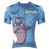 My Neighbor Totoro Blue Cycling Jersey Men's Short-Sleeve T-shirts Summer Chinchilla NO.519 -  Cycling Apparel, Cycling Accessories | BestForCycling.com