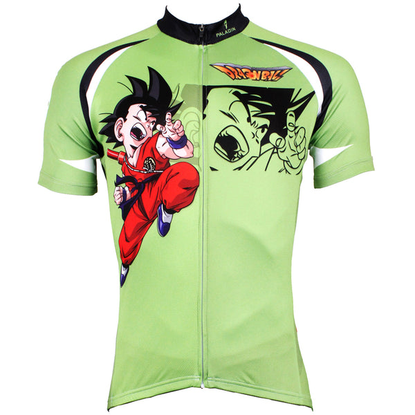 Ilpaladino Dragon Ball Wukong Man's Spring Summer Sportswear Short-sleeve Cycling Jersey Apparel Outdoor Sports Gear Cartoon World NO.520 -  Cycling Apparel, Cycling Accessories | BestForCycling.com