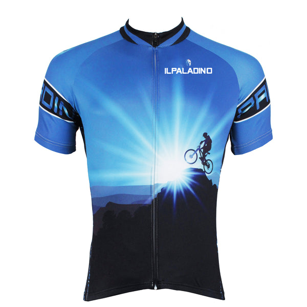 ILPALADINO Cyclist Climax Peak Ride Men's Cycling Jersey Bike Shirt Quick Dry Road Bike Wear Breathable Exercise Bicycling Summer Spring Autumn Pro Cycle Clothing Racing Apparel Outdoor Sports Leisure Biking Shirts NO.522 -  Cycling Apparel, Cycling Accessories | BestForCycling.com