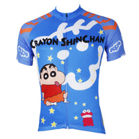 Man's Short-sleeve Cycling Jersey Jacket T-shirt Summer Spring Autumn Clothes Sportswear Cartoon World Crayon Shin-chan NO.534 -  Cycling Apparel, Cycling Accessories | BestForCycling.com