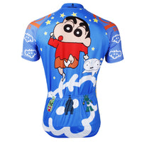 Man's Short-sleeve Cycling Jersey T-shirt Summer Crayon Shin-chan NO.534 -  Cycling Apparel, Cycling Accessories | BestForCycling.com