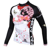 Two women's Magnolia& Peach Blossom flowers cycling short-sleeve&long-sleeve jerseys gear Spring&Summer Chinese Style sportswear Pro Cycle Clothing Racing Apparel Outdoor Sports Leisure Biking T-shirt NO.542/547 -  Cycling Apparel, Cycling Accessories | BestForCycling.com