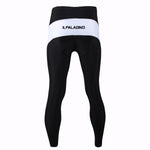 ILPARADINO Men's Black White Athletic and Cycling Legging Fleece Apparel Outdoor Sports Gear Leisure Biking T-shirt Pants/Trouser -  Cycling Apparel, Cycling Accessories | BestForCycling.com