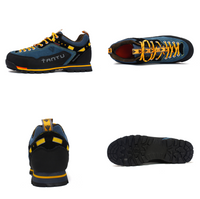 Fashion Men's Skidproof Walking Climbing Sneaker Casual Leather Shoes Waterproof Outdoor Hiking Mountaineering Walking Running Trekking Training Travel Leisure NO. 8038 -  Cycling Apparel, Cycling Accessories | BestForCycling.com