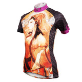 Ilpaladino Beautiful Girl Woman's Cycling Short-sleeve Jersey Summer Sportswear Apparel Outdoor Sports Gear NO.580 -  Cycling Apparel, Cycling Accessories | BestForCycling.com