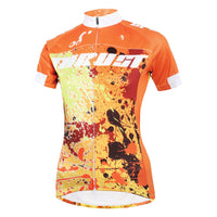 Ilpaladino TRUST Orange Women's Cycling Jersey Short Sleeve Bicycling Pro Cycle Clothing Racing Apparel Outdoor Sports Leisure Biking T-shirt Breathable Summer Clothes NO.587 -  Cycling Apparel, Cycling Accessories | BestForCycling.com