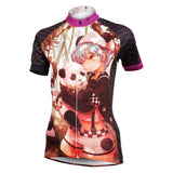 Little Panda & Two-dimensions Lovely Girl Women's Cycling Jersey Short Sleeve NO.590 -  Cycling Apparel, Cycling Accessories | BestForCycling.com