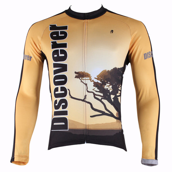 Ilpaladino Dusk Steppes Men's Long/Short-sleeve Cycling Bike jersey T-shirt Summer Spring Autumn Road Bike Wear Mountain Bike MTB Clothes Sports Apparel Top NO.300 -  Cycling Apparel, Cycling Accessories | BestForCycling.com