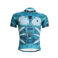 Ilpaladino Breathable Cycling Jersey Apparatus Robot Men's  Short-Sleeve Bicycling Shirts Summer Quick Dry Wear Apparel Outdoor Sports Gear NO.610 -  Cycling Apparel, Cycling Accessories | BestForCycling.com