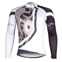 ILPARADINO Chain Men's Winter Long Sleeves Cycling Jacket Apparel Outdoor Sports Leisure Biking Shirt (Velvet) NO.617 -  Cycling Apparel, Cycling Accessories | BestForCycling.com