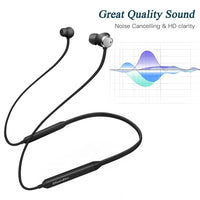 Active Noise Cancelling headphones, Bluetooth 4.2 Wireless Sports earbud Headsets,Magnetic Sweatproof Running Earbuds with Mic -  Cycling Apparel, Cycling Accessories | BestForCycling.com