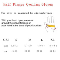Cycling Gloves men women half finger foam padded mountain road bicycle race breathable summer gloves -  Cycling Apparel, Cycling Accessories | BestForCycling.com