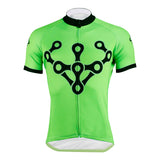 ILPALADINO Green Men's Cycling Jersey Green Comfortable Mountain Bike Clothes Bike Shirt Apparel Outdoor Sports Gear Leisure Biking T-shirt NO.625 -  Cycling Apparel, Cycling Accessories | BestForCycling.com