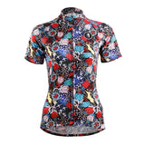$35.99 for two women's Flowers cycling jerseys short-sleeve summer sportswear gear Pro Cycle Clothing Racing Apparel Outdoor Sports Leisure Biking T-shirt NO.114/629 -  Cycling Apparel, Cycling Accessories | BestForCycling.com