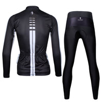 Ilpaladino Woman White striped Black Cool Short/long-sleeve Cycling Suit Apparel Outdoor Sports Gear Leisure Biking T-shirt Kit NO.646 -  Cycling Apparel, Cycling Accessories | BestForCycling.com