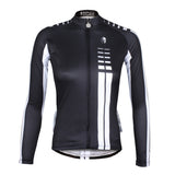 Ilpaladino Best Seller Woman White striped Black Cool Short/long-sleeve Cycling Jersey Sportswear Summer Spring Autumn Pro Cycle Clothing Racing Apparel Outdoor Sports Leisure Biking shirt  NO.646 -  Cycling Apparel, Cycling Accessories | BestForCycling.com