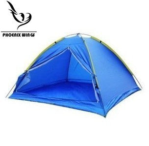 4-Person Single-layer Blue Camping/Traveling Family Tent Backpacking Dome Shelters with Compression Bag Waterproof Durable Tear Resistant -  Cycling Apparel, Cycling Accessories | BestForCycling.com