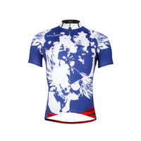 Blue Men's Cycling Jersey Summer Short Sleeve Biking T-shirt NO.654 -  Cycling Apparel, Cycling Accessories | BestForCycling.com