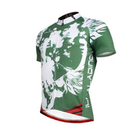Angel White Wing Feather Green Cycling Jersey Men's  Short-Sleeve Bicycling Shirts Summer NO.656 -  Cycling Apparel, Cycling Accessories | BestForCycling.com