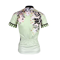 Ilpaladino  Spring Nature Women's  Quick Dry Short-Sleeve Green Cycling Jersey Biking Shirts Breathable Summer Sport Clothes  NO.685 -  Cycling Apparel, Cycling Accessories | BestForCycling.com