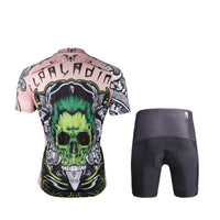 ILPALADINO Green-hair Skull Men's Short Sleeves Cycling Jersey Sport Suit Exercise Bicycling Pro Cycle Clothing Racing Apparel Outdoor Sports Leisure Biking Shirts 688 -  Cycling Apparel, Cycling Accessories | BestForCycling.com