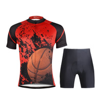 Ilpaladino Baketball Fan Sport Breathable Black&Red Jersey Men's Short-Sleeve Shirts Summer Quick Dry Wear  Apparel Outdoor Sports Gear Leisure Biking T-shirt NO.691 -  Cycling Apparel, Cycling Accessories | BestForCycling.com