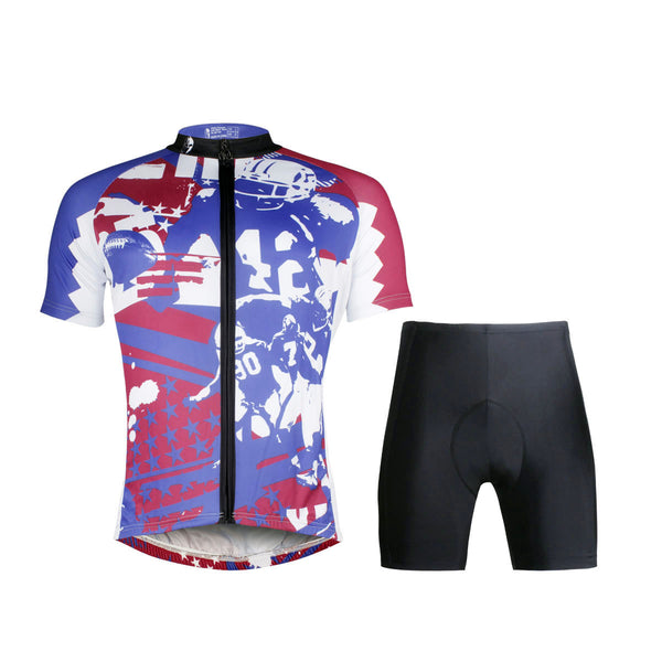 Ilpaladino Rugby Team Breathable Jersey/Suit Men's Short-Sleeve Sport Summer Exercise Bicycling Pro Cycle Clothing Racing Apparel Outdoor Sports Leisure Biking Shirts Quick Dry Wear NO.695 -  Cycling Apparel, Cycling Accessories | BestForCycling.com