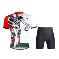 Ilpaladino Rugby Player Sport Breathable Cycling Red&White Jersey/Suit Men's Short-Sleeve Summer Quick Dry Exercise Bicycling Pro Cycle Clothing Racing Apparel Outdoor Sports Leisure Biking Shirts Wear NO.696 -  Cycling Apparel, Cycling Accessories | BestForCycling.com