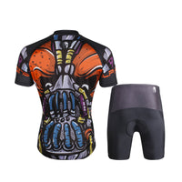 ILPALADINO Ugly Skull Men's Short Sleeves Cycling Jersey Bicycling Pro Cycle Clothing Racing Apparel Outdoor Sports Leisure Biking T-shirt  Suit 699 -  Cycling Apparel, Cycling Accessories | BestForCycling.com