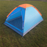 2 Person One-Layer Outdoor Wild Camping Dome Backpacking Camp Tents Shelters Waterproof well-ventilated Blue/Orange -  Cycling Apparel, Cycling Accessories | BestForCycling.com