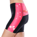 Flying Fish Carps Red Pink Womans Cycling Spinning Padded Bike Shorts UPF 50+ Spandex Clothing and Riding Gear Summer Pant Road Bike Wear Mountain Bike MTB Clothes Sports Apparel Quick dry Breathable NO. 806 -  Cycling Apparel, Cycling Accessories | BestForCycling.com