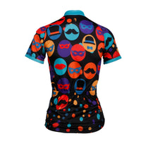 Ilpaladino Gentle Mustache Hat Women's Cycling Long/Short-sleeve Jersey/kit Sportswear Exercise Bicycling Pro Cycle Clothing Racing Apparel Outdoor Sports Leisure Biking Shirts NO.714 -  Cycling Apparel, Cycling Accessories | BestForCycling.com