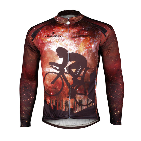 Cyclist Starry Night Men's  Long Sleeves Cycling Shirt Jersey/Suit NO.722 -  Cycling Apparel, Cycling Accessories | BestForCycling.com