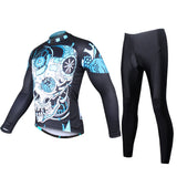 Men's Cycling Long-sleeved Jersey Cycling Clothing Hidden Zipper Fashion Design Leisure Sports Clothing Outdoor Cycling Suit(velvet) 738 -  Cycling Apparel, Cycling Accessories | BestForCycling.com
