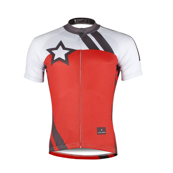 Red Men's Cycling Jersey for Men Bicycling Summer NO.743 -  Cycling Apparel, Cycling Accessories | BestForCycling.com
