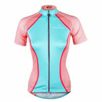 ILPALADINO Cycling Jersey for Girls Pink and Blue Bike Bicycling Summer Spring Autumn Pro Cycle Clothing Racing Apparel Outdoor Sports Leisure Biking Shirts Breathable and Comfortable Cycling Clothing NO.754 -  Cycling Apparel, Cycling Accessories | BestForCycling.com