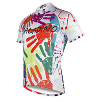 ILPALADINO Men's Road Bike Apparel Colorful Street Fashion Bike Shirt Short Sleeve for Outdoor Sports NO.757 -  Cycling Apparel, Cycling Accessories | BestForCycling.com