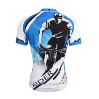 Blue Men's Cycling Riding Biking Cyclist Spring Autumn Bicycling Shirts NO.758 -  Cycling Apparel, Cycling Accessories | BestForCycling.com