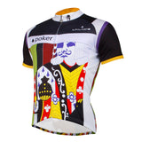 Ilpaladino Poker King Playing Card Fashion Men's Long-sleeve Cycling Top Jersey Summer Spring Autumn Pro Cycle Clothing Racing Apparel Outdoor Sports Leisure Biking shirt NO. 759 -  Cycling Apparel, Cycling Accessories | BestForCycling.com