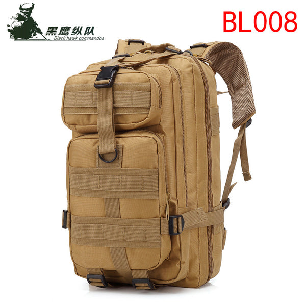 BL008 Stylish Multifunctional 3D tactical backpack Shoulders Bag Outdoor Waterproof Sports Backpack For Men and Women for travel and Hiking Best with Multiple Compartments, Large Volume Capacity -  Cycling Apparel, Cycling Accessories | BestForCycling.com